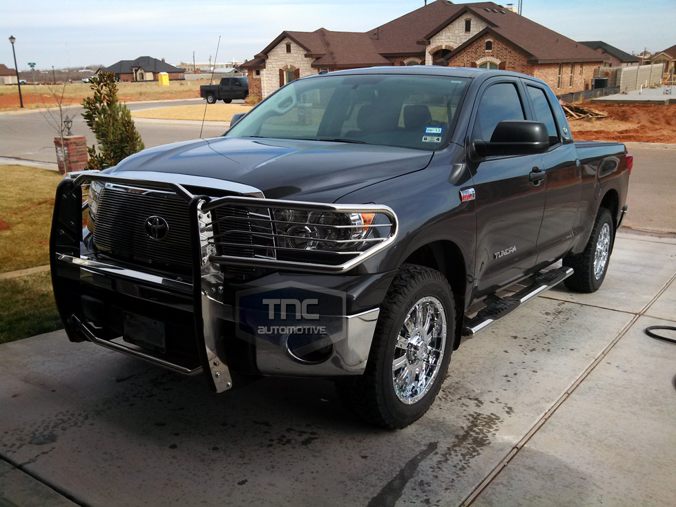 2007 2013 toyota tundra brush guard stainless steel grill guard ebay. Black Bedroom Furniture Sets. Home Design Ideas
